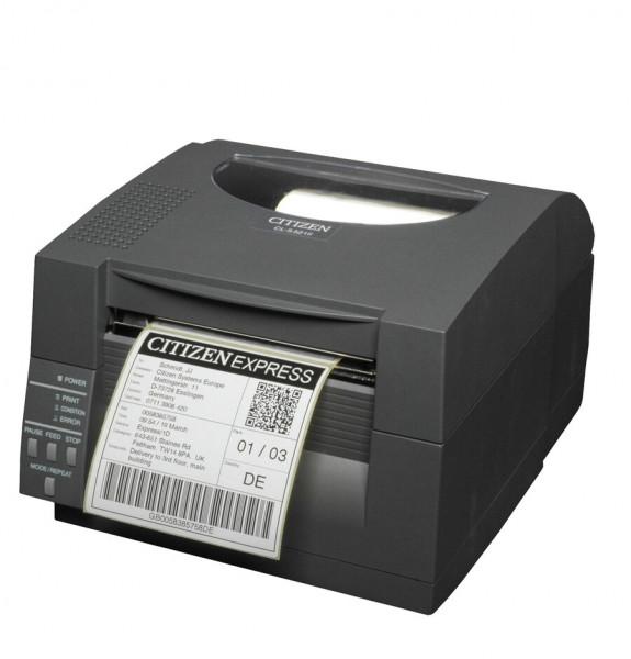 Citizen CL-S521II Thermo Etikettendrucker LAN schwarz