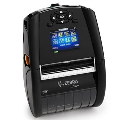 Zebra ZQ620 Mobiler Drucker linerless