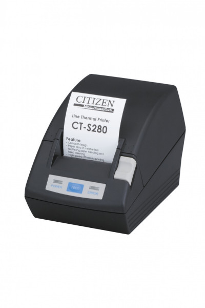 Citizen Kassendrucker CT-S281 Cutter schwarz