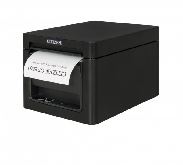 Citizen CT-E651 Kassendrucker 80mm schwarz