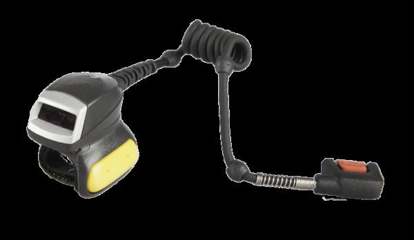 Zebra RS4000, Ringscanner, Laser, manueller Trigger, Kabel zum WT6000