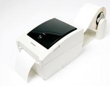 Abroller - Bild mit Drucker
