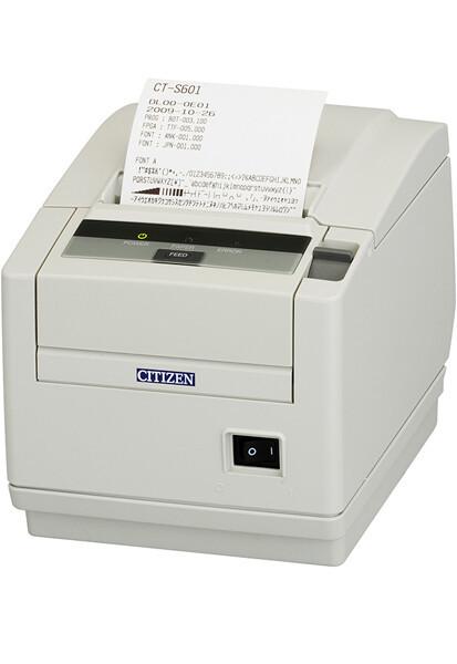 Citizen CT-S601II Kassendrucker 80mm weiss