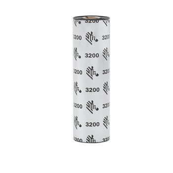 Zebra Thermotransferfolie 110mmx74m Wachs/Harz 3200