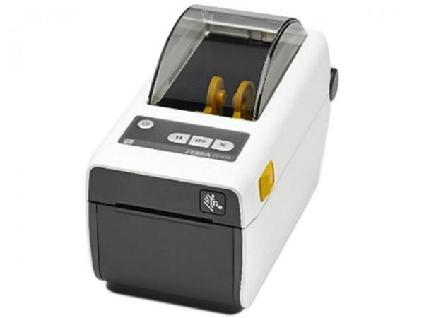 Zebra ZD410 Healthcare Thermo Etikettendrucker 203dpi LAN BT USB