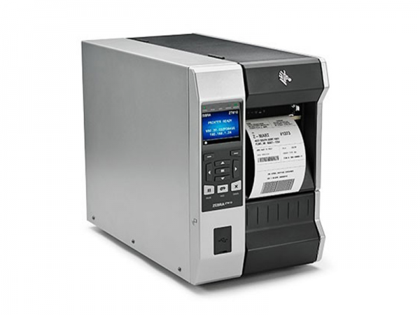 Zebra ZT610 Etikettendrucker 300dpi Spender& Aufwickler