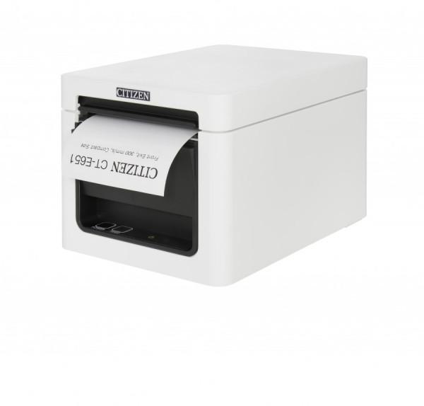 Citizen CT-E651 Kassendrucker 80mm BT weiss