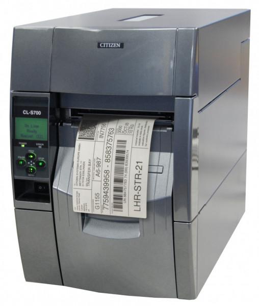 Citizen CL-S700RII Etikettendrucker Rewind Ethernet